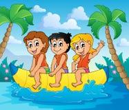 Imagem 6 do tema do esporte de água Foto de Stock