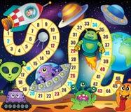 Imagem 1 do tema do jogo da mesa Imagens de Stock Royalty Free