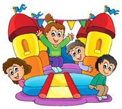 Imagem 9 do tema do jogo das crianças Imagem de Stock Royalty Free