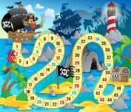 Imagem 5 do tema do jogo de mesa Fotografia de Stock