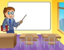 Imagem 4 do tema do professor do homem Imagens de Stock Royalty Free