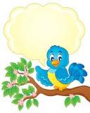 Imagem do tema do pássaro   Foto de Stock Royalty Free