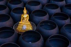 Imagem do templo de buddha em público Foto de Stock Royalty Free