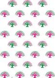 Imagem do teste padrão da árvore Imagens de Stock