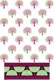 Imagem do teste padrão da árvore Foto de Stock Royalty Free