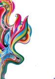 Imagem do vetor de ondas da cor Fotografia de Stock Royalty Free