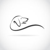 Imagem do vetor de um cão (bassê) Fotografia de Stock Royalty Free
