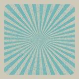 Imagem do vetor do sunburst do Grunge Fotos de Stock