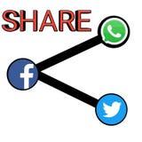 Imagem do vetor dos gráficos de compartilhar o ícone Imagem de Stock Royalty Free
