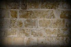 Imagem do Vignetting da parede de pedra do olg Imagens de Stock Royalty Free