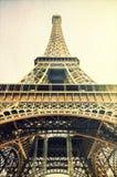 Imagem do vintage da torre Eiffel Fotografia de Stock Royalty Free