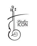 Imagem do violino Fotografia de Stock Royalty Free