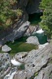 Imagem dos caldeirões de Sooke, BC, Canadá fotografia de stock royalty free