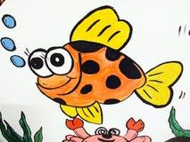 Imagem dos desenhos animados das crianças Imagens de Stock