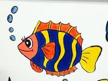 Imagem dos desenhos animados das crianças Foto de Stock Royalty Free