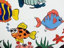 Imagem dos desenhos animados das crianças Fotos de Stock