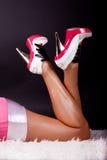 Imagem dos pés 'sexy' imagem de stock royalty free