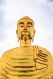 Imagem dourada das Budas Foto de Stock