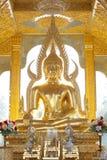Imagem dourada de buddha Foto de Stock Royalty Free