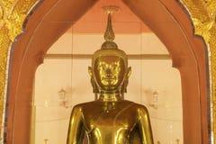 Imagem dourada de buddha Fotos de Stock Royalty Free