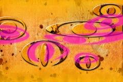 Imagem engraçada da ilustração abstrata da arte do projeto da cor Fotografia de Stock