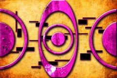Imagem engraçada da ilustração abstrata da arte do projeto da cor Fotos de Stock Royalty Free