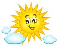 Imagem feliz 1 do assunto do sol Foto de Stock Royalty Free