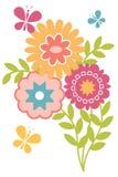 Imagem floral isolada mola Fotografia de Stock