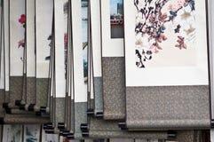 Pinturas tradicionais chinesas fotografia de stock royalty free