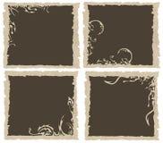 A imagem gótico dos frames do vetor Fotografia de Stock Royalty Free