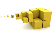 Imagem geométrica Imagens de Stock