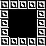 Imagem geométrica, quadro da foto no formato squarish ilustração royalty free