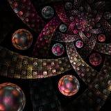Imagem gerada por computador do fractal ilustração do vetor