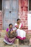 Imagem ilustrativa editorial Casa colorida indiano Foto de Stock
