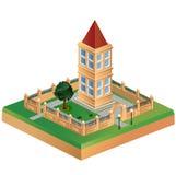 Imagem isométrica Imagem de Stock Royalty Free