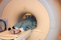 Imagem latente de ressonância magnética Imagem de Stock