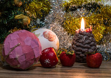 Imagem mágica do Natal foto de stock
