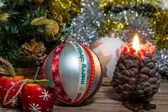 Imagem mágica do Natal imagens de stock