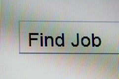 Imagem macro do monitor com textbox Foto de Stock