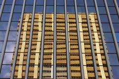Imagem moderna da arquitetura de edifícios financeiros Fotografia de Stock Royalty Free