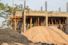 A imagem mostra a outra construção home Fotos de Stock