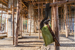 A imagem mostra a outra construção home Fotografia de Stock