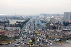 Imagem muçulmana do país tomada da torre de Azadi Foto de Stock