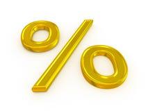 Por cento ilustração royalty free