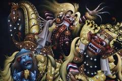 Imagem no templo de Mengi Imagens de Stock