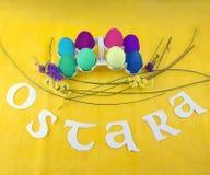 Imagem para a celebração de Ostara foto de stock