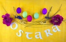 Imagem para a celebração de Ostara imagens de stock royalty free