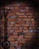 Imagem pintada na parede de tijolo Fotografia de Stock