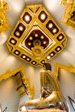 Imagem pura da Buda do ouro em Wat Traimit, Banguecoque, Tailândia Foto de Stock Royalty Free