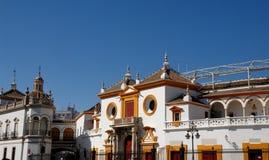 Imagem santamente na parede clara em Jerez de la Frontera na Espanha Fotos de Stock